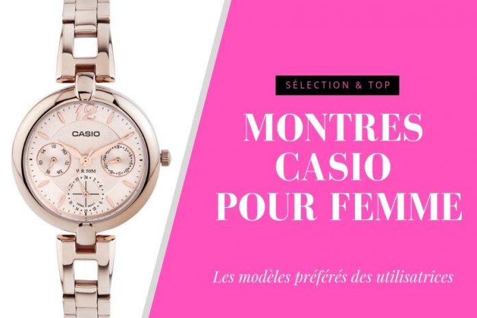 meilleure montre casio femme