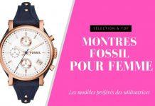 meilleure montre fossil femme