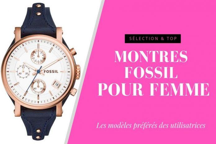 construction rationnelle vente énorme profiter de prix bas Montre Fossil Femme : TOP11, Avis et Meilleures Promos 2019
